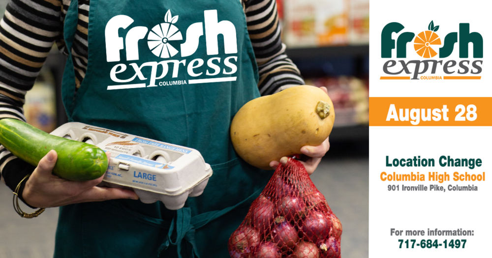 Fresh Express Distribution, August 28th