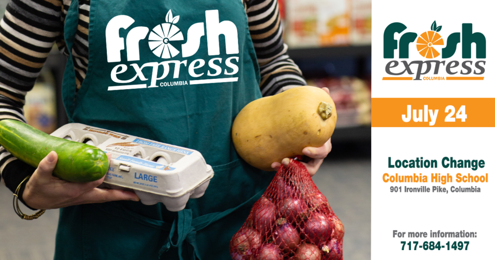 Fresh Express Distribution, July 24th