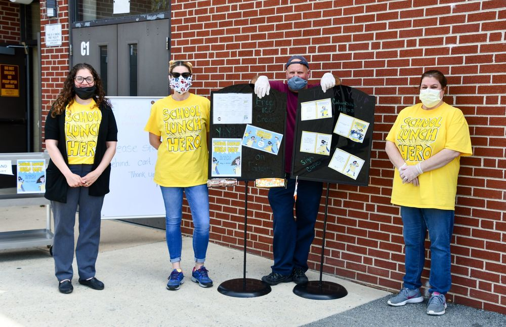 School Lunch Hero Day, May 1, 2020
