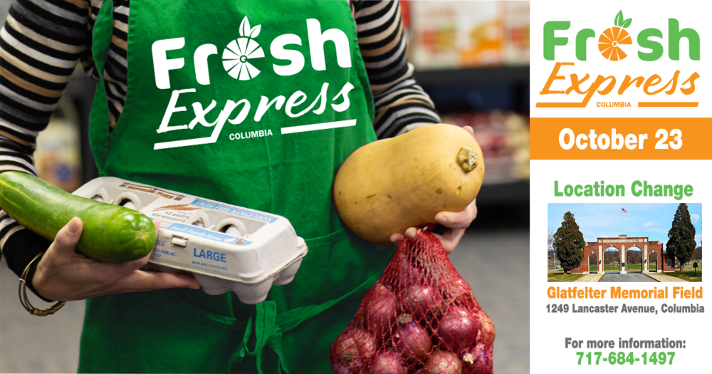 Fresh Express Distribution, October 23rd