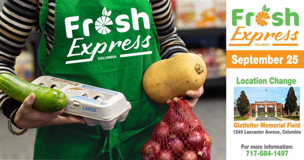 Fresh Express Distribution, September 25th