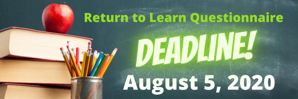 "Parent Meeting Recap and  ""Return to Learn"" Questionnaire"