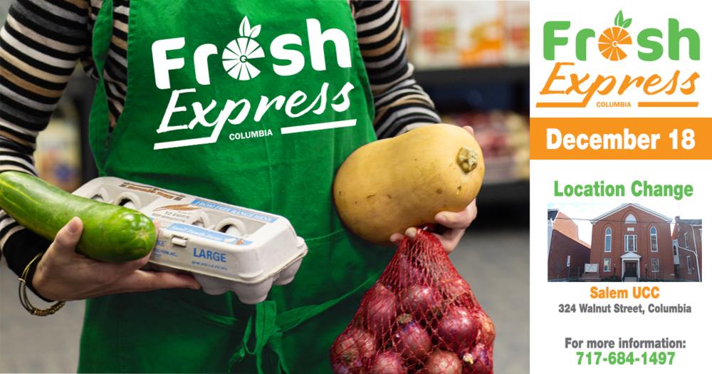 Fresh Express Distribution, December 18th
