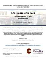 Job Fair Opportunity