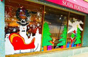 Holiday Window Art