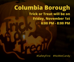 Trick or Treat night moved to Friday