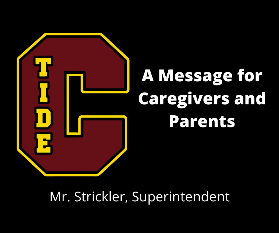 Message to Caregiver and Parents